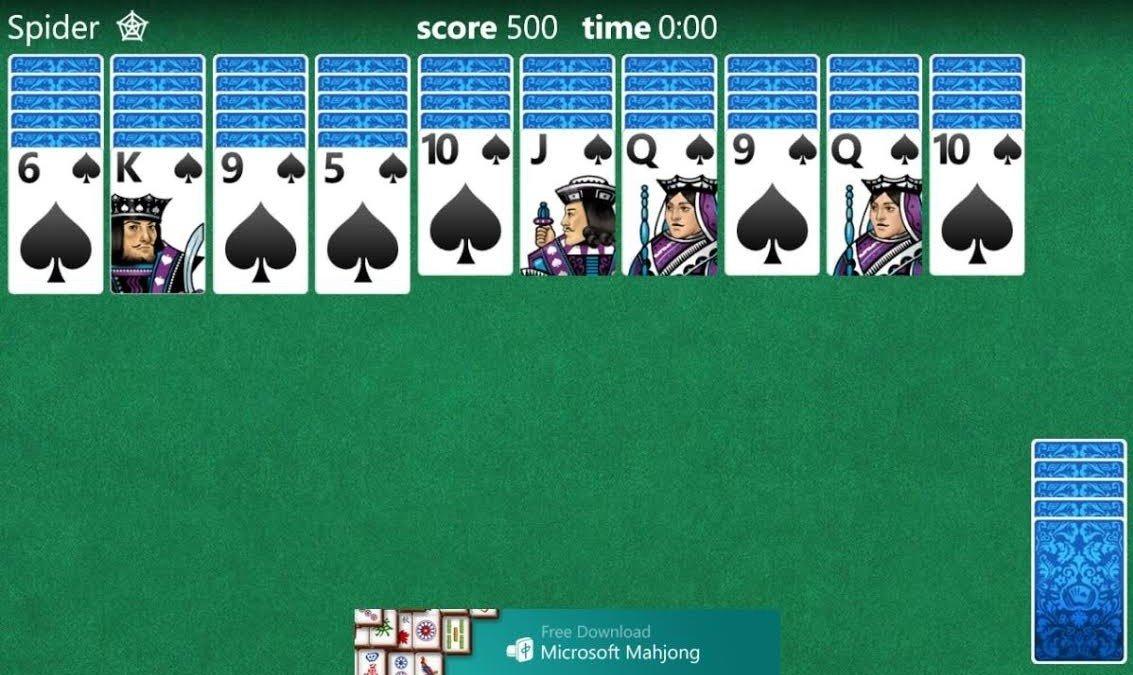 Игры майкрософт карточные скачать бесплатно